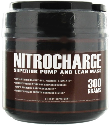 Zoom View - Nitrocharge Superior Pump and Lean Mass
