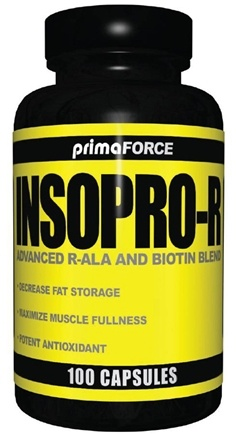 DROPPED: Primaforce - Insopro-R Advanced R-ALA and Biotin Blend - 100 Vegetarian Capsules CLEARANCE PRICED