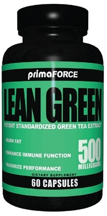 DROPPED: Primaforce - Lean Green Potent Green Tea Extract 500 mg. - 60 Vegetarian Capsules