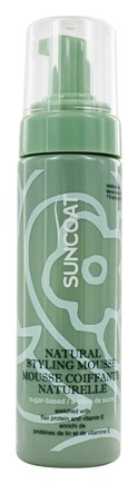 Suncoat - Sugar-Based Natural Styling Mousse Medium Hold - 7 oz.