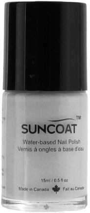 DROPPED: Suncoat - Water-Based Nail Polish Pearl Purple 02 - 0.5 oz. CLEARANCE PRICED