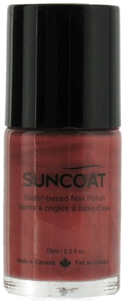 DROPPED: Suncoat - Water-Based Nail Polish Sienna 11 - 0.5 oz. CLEARANCE PRICED