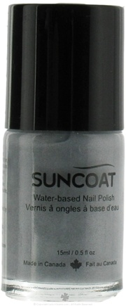 DROPPED: Suncoat - Water-Based Nail Polish Silver 14 - 0.5 oz. CLEARANCE PRICED