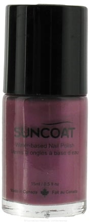 DROPPED: Suncoat - Water-Based Nail Polish Purple Haze 15 - 0.5 oz. CLEARANCE PRICED