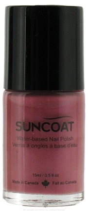 DROPPED: Suncoat - Water-Based Nail Polish Plum 16 - 0.5 oz. CLEARANCE PRICED
