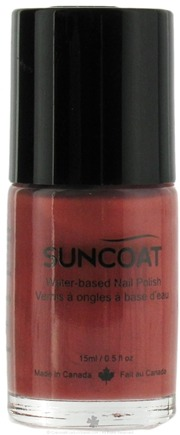 DROPPED: Suncoat - Water-Based Nail Polish Dusty Terracotta 20 - 0.5 oz. CLEARANCE PRICED
