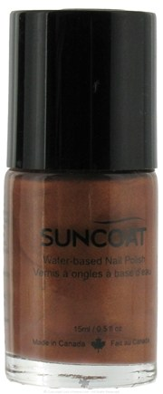 DROPPED: Suncoat - Water-Based Nail Polish Cinnamon 24 - 0.5 oz. CLEARANCE PRICED