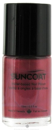 DROPPED: Suncoat - Water-Based Nail Polish Desert Sunset 25 - 0.5 oz. CLEARANCE PRICED