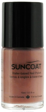 DROPPED: Suncoat - Water-Based Nail Polish Almond Nude 27 - 0.5 oz. CLEARANCE PRICED