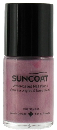 DROPPED: Suncoat - Water-Based Nail Polish Lavender 30 - 0.5 oz. CLEARANCE PRICED