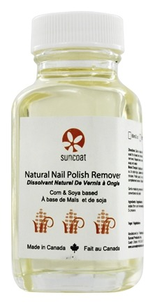 Suncoat - Natural Nail Polish Remover - 2 oz.