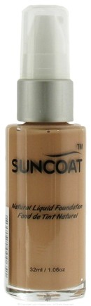 DROPPED: Suncoat - Liquid Mineral Foundation Ivory - 1 oz. CLEARANCE PRICED
