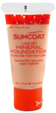 DROPPED: Suncoat - Liquid Mineral Foundation Classic Tan - 1 oz. CLEARANCE PRICED