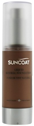 DROPPED: Suncoat - Liquid Mineral Foundation Bronzer - 1 oz. CLEARANCE PRICED