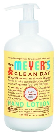 DROPPED: Mrs. Meyer's - Clean Day Hand Lotion Baby Blossom - 12.25 oz.