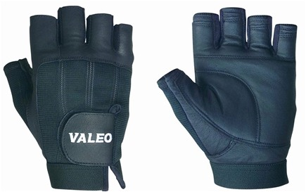 DROPPED: Valeo Inc. - Competition Lifting Gloves- Black- Extra Large - 1 Pair CLEARANCE PRICED