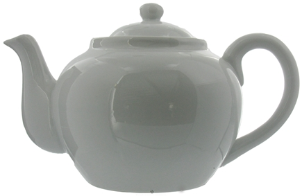 DROPPED: Harold Import - Teapot Porcelain with Infuser White - 32 oz. CLEARANCE PRICED