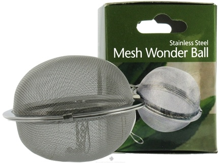 DROPPED: Harold Import - Stainless Steel Mesh Wonder Tea Ball 2 1/2 inch