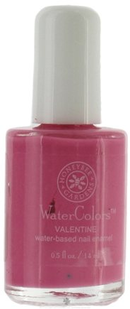 DROPPED: Honeybee Gardens - Watercolors Water Based Nail Enamel Valentine - 0.5 oz. CLEARANCE PRICED