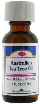 DROPPED: Heritage - Australian Tea Tree Oil From Melaleuca Alternifolia - 1 oz. CLEARANCE PRICED