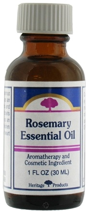 DROPPED: Heritage - Rosemary Essential Oil Aromatherapy and Cosmetic Ingredient - 1 oz.