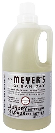 Mrs. Meyer's - Clean Day Laundry Detergent Concentrated 64 Loads Lavender - 64 oz.