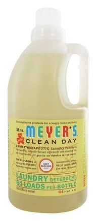 Mrs. Meyer's - Clean Day Laundry Detergent Concentrated 64 Loads Baby Blossom - 64 oz.