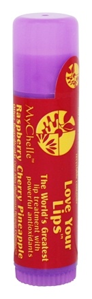 DROPPED: MyChelle Dermaceuticals - Love Your Lips Raspberry Cherry Pineapple - 0.5 oz.