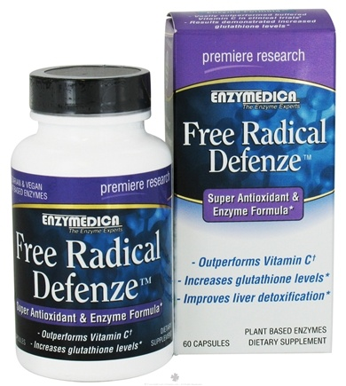 DROPPED: Enzymedica - Free Radical Defenze Super Antioxidant & Enzyme Formula - 60 Capsules