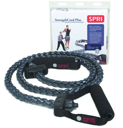 Zoom View - StrengthCord Plus- Level 3 Medium Resistance Band