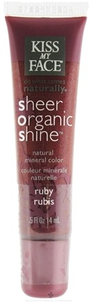 Zoom View - Sheer Organic Shine Natural Mineral Color Lip Gloss