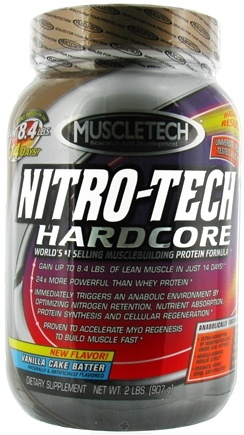 Zoom View - Nitro-Tech Hardcore Protein Powder