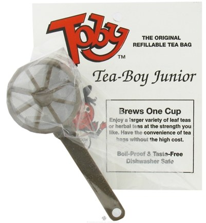 DROPPED: Harold Import - Toby Tea-Boy Junior Refillable Tea Bag