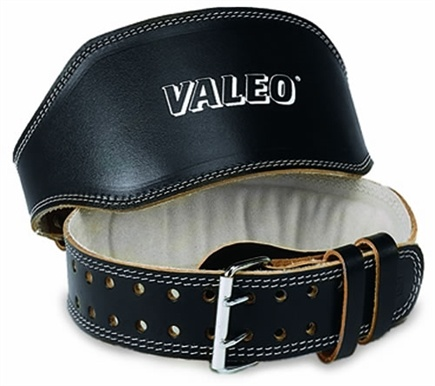 DROPPED: Valeo Inc. - Leather Lifting Belt 4 Inch- Black- Medium - CLEARANCE PRICED