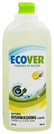 DROPPED: Ecover - Dishwashing Liquid Lemon & Aloe Vera - 32 oz.