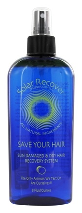 Solar Recover - Save Your Hair Sun Damaged & Dry Hair Recovery - 8 oz.