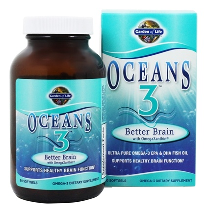 Zoom View - Oceans 3 Better Brain with OmegaXanthin