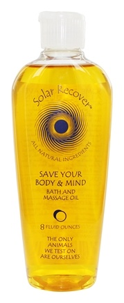 Zoom View - Solar Recover Save Your Body & Mind Bath And Massage Oil