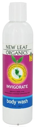 DROPPED: New Leaf Organics - Body Wash Invigorate - 8.1 oz. CLEARANCE PRICED