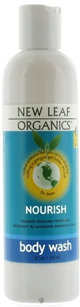 DROPPED: New Leaf Organics - Body Wash Nourish - 8.1 oz. CLEARANCE PRICED