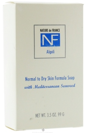 DROPPED: Nature de France - Bar Soap Normal To Dry Skin Formula Algoli - 3.5 oz.