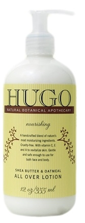 DROPPED: Hugo Naturals - All Over Lotion Nourishing Shea Butter & Oatmeal - 12 oz.