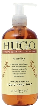 DROPPED: Hugo Naturals - Liquid Hand Soap Nourishing Oatmeal & Almond - 12 oz.