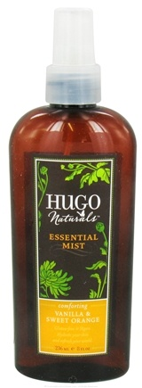DROPPED: Hugo Naturals - Essential Mist Comforting Vanilla & Sweet Orange - 8 oz.