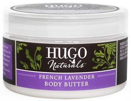Hugo Naturals - Body Butter Calming French Lavender - 4 oz.
