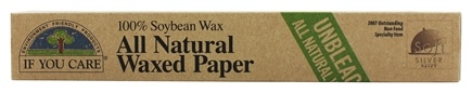 If You Care - All Natural Waxed Paper Unbleached 100% Soybean Wax - 75 ft.