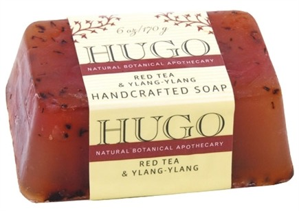 DROPPED: Hugo Naturals - Handcrafted Bar Soap Red Tea & Ylang-Ylang - 6 oz. CLEARANCE PRICED