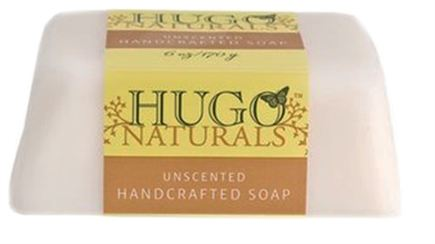 DROPPED: Hugo Naturals - Handcrafted Bar Soap Unscented - 6 oz. CLEARANCE PRICED