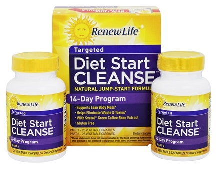 Zoom View - Diet Start Cleanse Easy 14-Day Program with Svetol