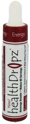 Zoom View - Health Dropz Energy Beverage Booster